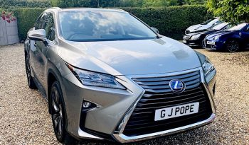 2016 LEXUS RX-450-H 3.5H:SOLD: full