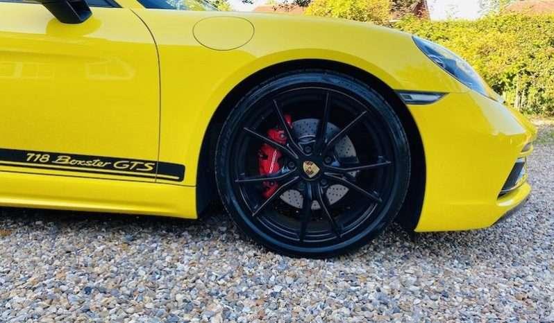 2018 PORSCHE 718 BOXSTER 2.5T GTS PDK full