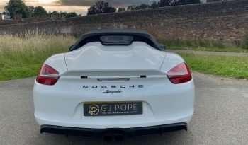 PORSCHE 981 SPYDER 3.8 full